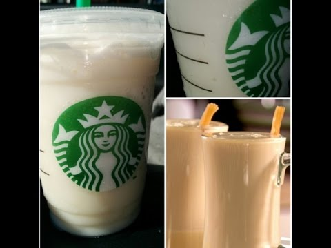 Butter Beer Frappuccino (Secret Starbucks Menu)