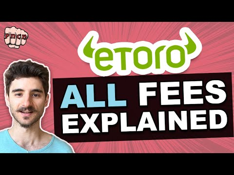 Etoro Fees Explained - Guide To All Fees + Example + Excel Calculator (Downloadable)