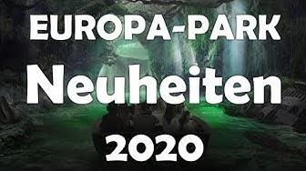 Die Neuheiten 2020 im EUROPA-PARK