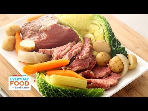 Slow-Cooker Corned Beef And Cabbage - Everyday Food With Sarah Carey