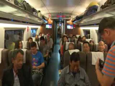 China regresa a 350 km/h velocidad de tren bala