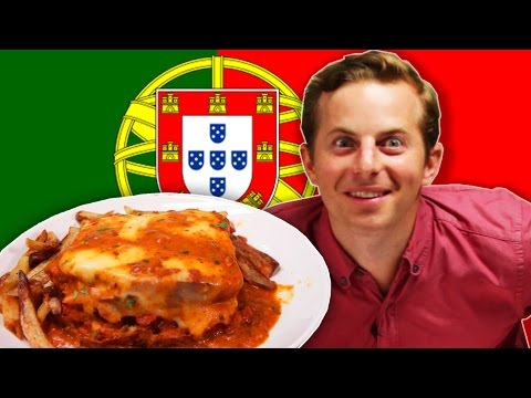 People Try Portuguese Food For The First Time