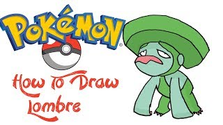How To Draw Lombre (POKEMON)