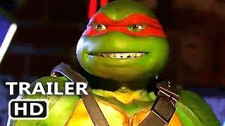 PS4 - Injustice 2 Ninja Turtles Gameplay Trailer (2018) TMNT Pack