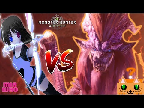 "Kjaar Bow ""Water"" vs AT Teostra - Monster Hunter World/Build thumbnail"