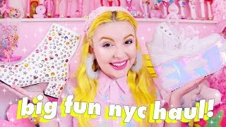 BIG FUN NEW YORK HAUL 🎀✨ YRU, Current Mood, and lots of kawaii goodies 💕
