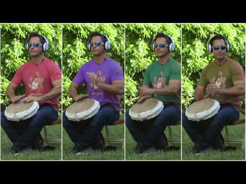 KuKu African Rhythm for Solo Practice with TV Host Peter Miller