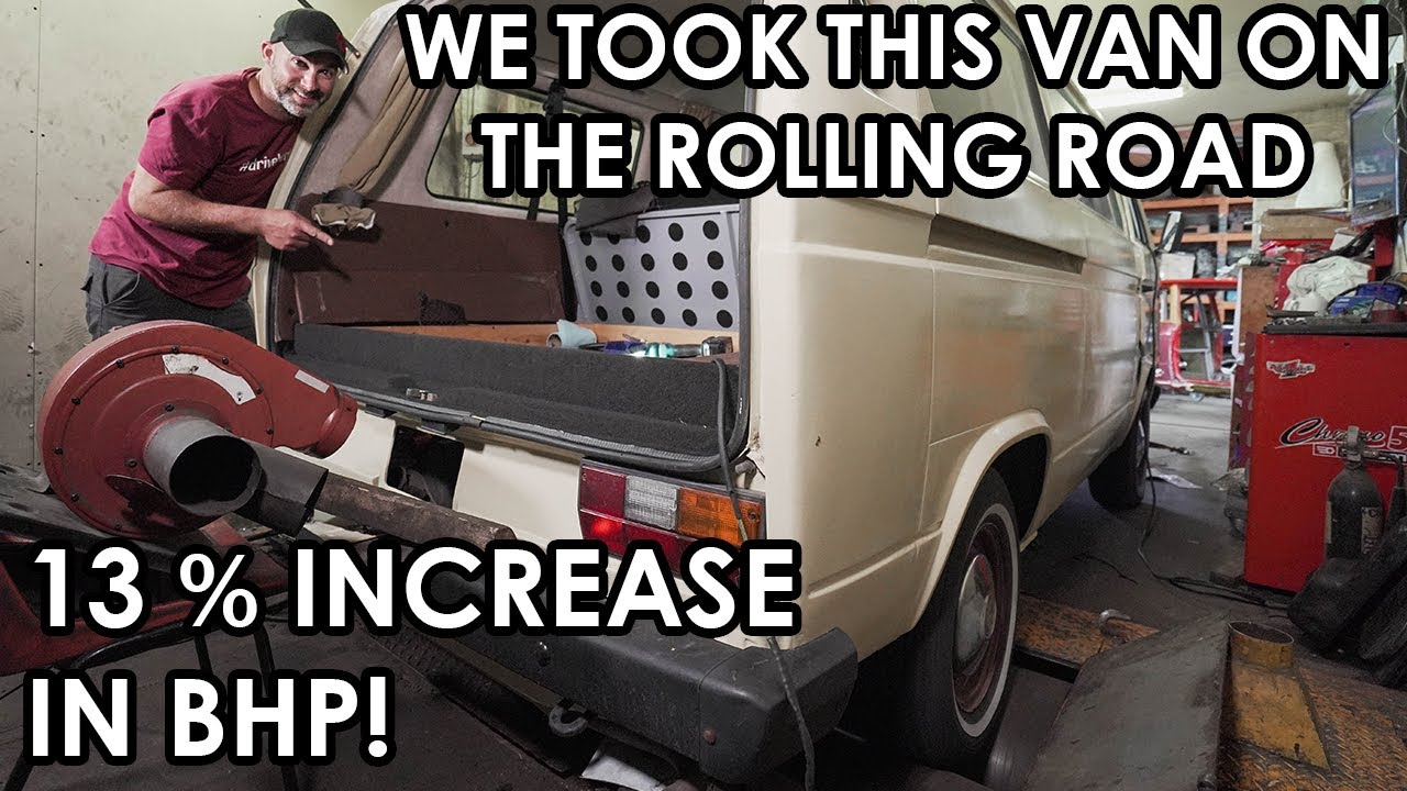 HOW TO MAKE YOUR SLOW CAMPER FAST(er)!  We got HUGE GAINS on the rolling road!