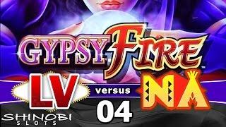 Las Vegas vs Native American Casinos Episode 4: Gypsy Fire Slot Machine