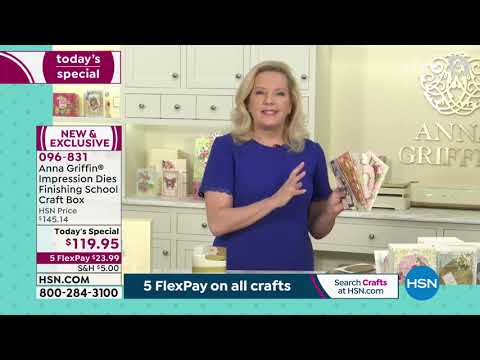 HSN | Paper Crafting Tools & Supplies 05.04.2021 – 11 AM