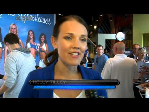 Colts Cheerleader Calendar Release Party