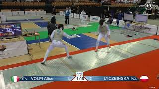 2019 118 T64 32 F F Individual Katowice POL WC RED LYCZBINSKA POL vs VOLPI ITA