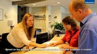 Prodim Draw & Quote - Helping a customer