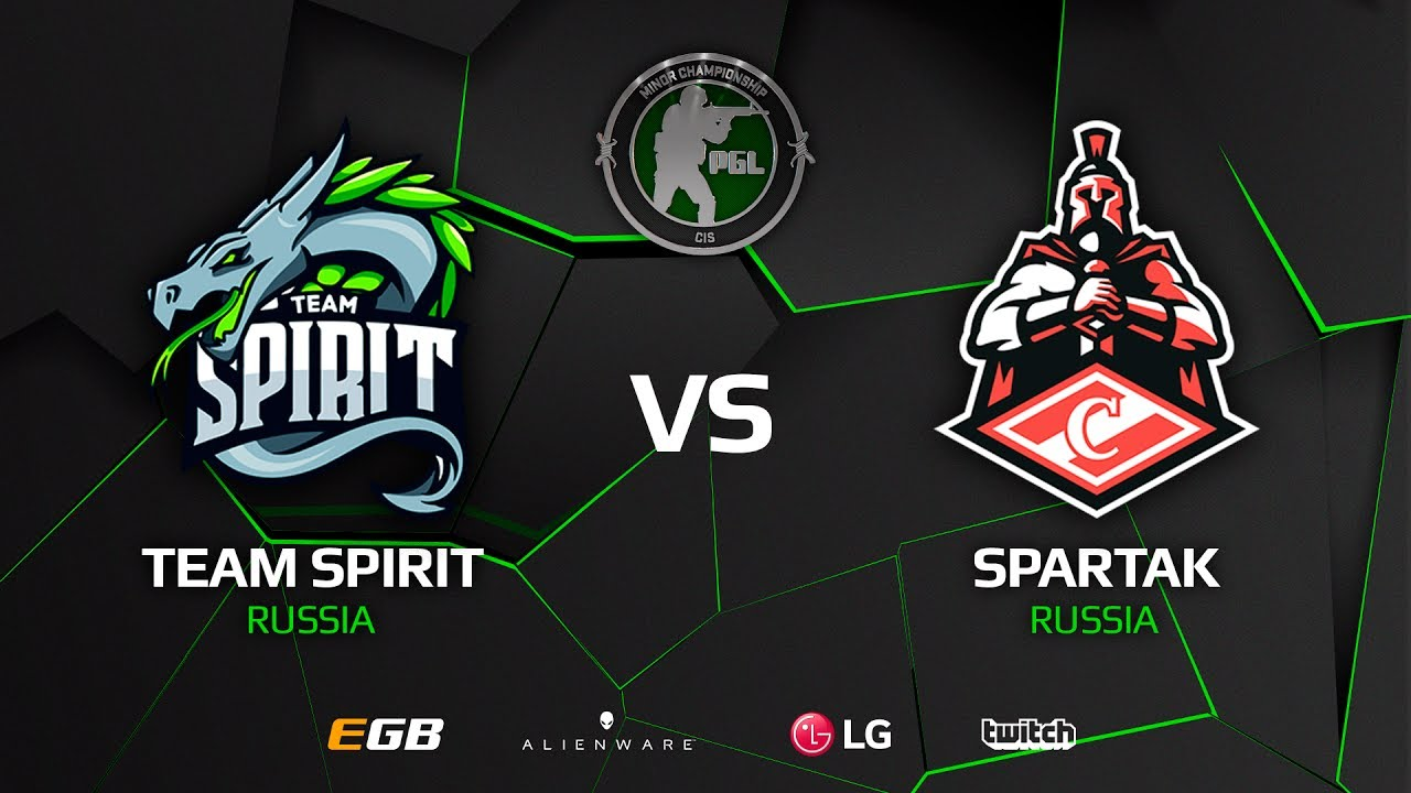 [EN] Spirit vs Spartak, map 2 train, CIS Minor – PGL Major Krakow 2017