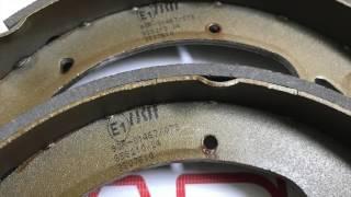 Задние тормозные колодки TRW GS8210 на ВАЗ 2108-099, 2110-12, 1117-19