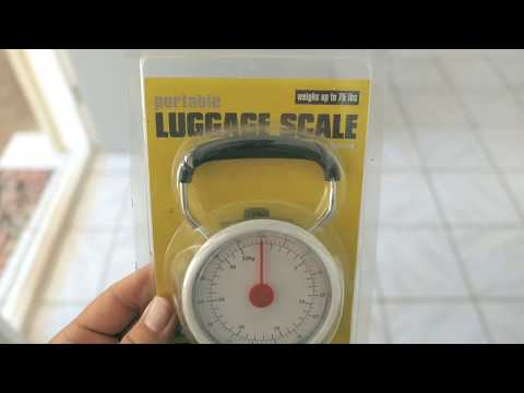 Luggage Scale   No Over Weight Fees