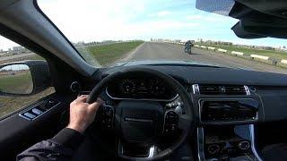 2018 Land Rover Range Rover Sport HSE POV Test Drive