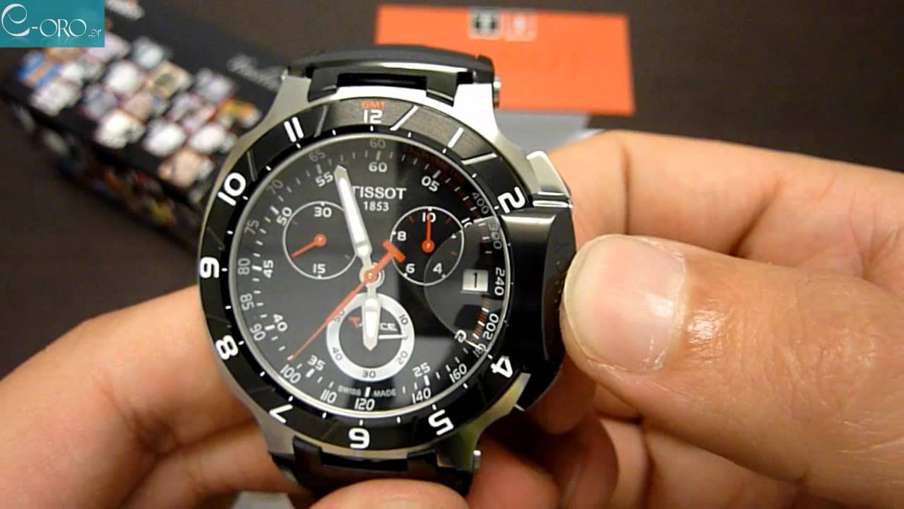 9cf1997496a TISSOT T-Race Moto GP Mens Watch T0484172705100 - E-oro.gr - YouTube