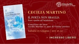 Cecilia Martino Il poeta non sbaglia - Libreria esoterica Ibis