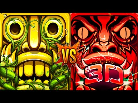 Temple Run 2 Lost Jungle Vs Temple Endless Magical Run 3D Endless Run Gameplay Video For Kids!