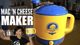 MAC & CHEESE MAKER vs. A POT | Nation Macaroni N
