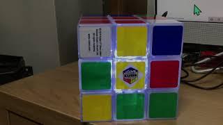 Rubix Cube Desk Light