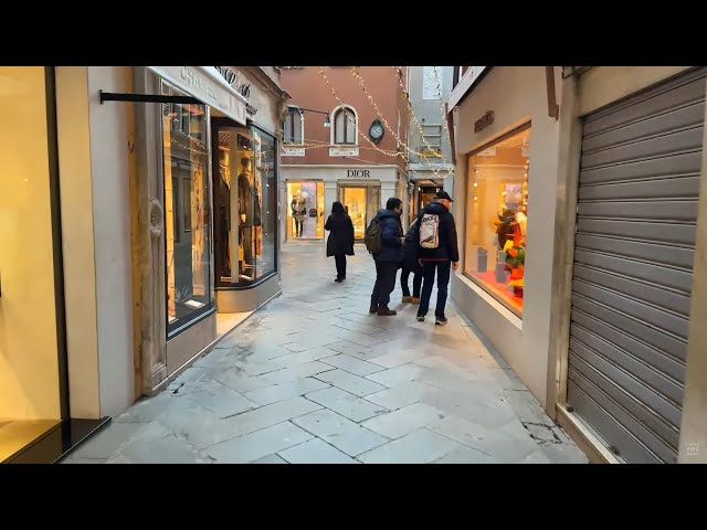 Live Venice (Jan 8, 2021) - Live Walking around Venice