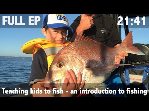 Teaching Kids To Fish: An Introduction To Fishing
