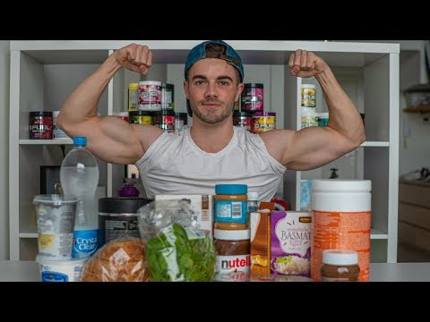 a FULL DAY OF EATING on a bulk (for a HARDGAINER/ECTOMORPH)