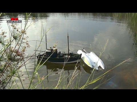 H-King Marine Hydrotek F1 Tunnel Hull Racing Boat ARR first run at Sengkang Pond 3S run