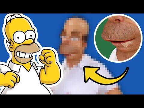 Homer Simpson In Real Life - Humanizing Characters (PHOTOSHOP)