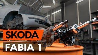 Montering Støtdemper foran SKODA FABIA Combi (6Y5): gratis video