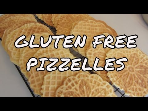 Pizzelles ~ Gluten Free