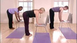 Stronger Seniors Chair Yoga Standing  Sequence  Exercise Video for Fibromyalgia