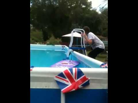 i jump into my pool fully clothed youtube. Black Bedroom Furniture Sets. Home Design Ideas