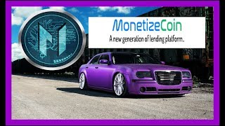 NEW ICO MONETIZE COIN || #1 LENDING PALTFORM FOR 2018 - Make 10X to 50X gains on your cryptocurrency