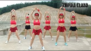 Download lagu 34 Mins Aerobic reduction of belly fat quickly l Aerobic dance workout easy steps l Zumba Class