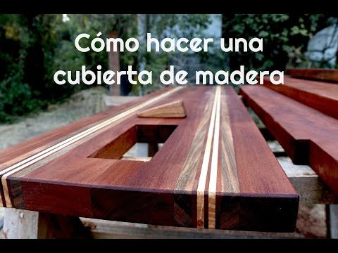 C mo hacer una cubierta de madera youtube for Crear una cubierta de madera