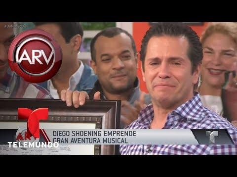 Diego Shoening se despidió de Un Nuevo Día | Al Rojo Vivo | Telemundo
