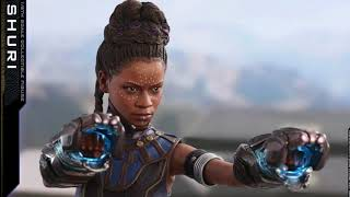 Black Panther Hot Toys Shuri 1/6 Scale Movie Figure & Wakanda Throne Reveal!