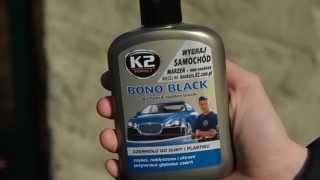 K2 BONO BLACK - preparat do czernienia opon, gumy, oraz zderzaków samochodowych
