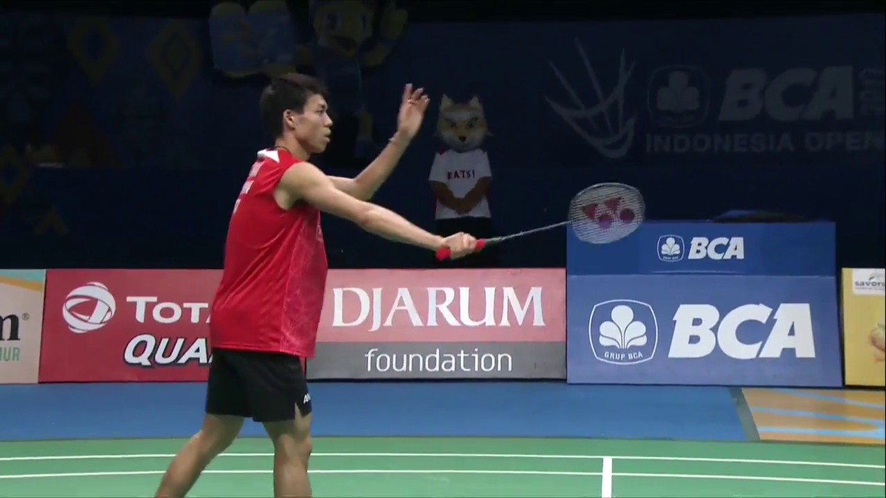 Bca Indonesia Open  Badminton F M Ms Kazumasa Sakai Vs Kidambi Srikanth