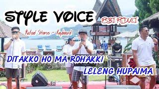 STYLE VOICE feat RAFAEL SITORUS - DITAKKO HO MA ROHAKKI & LELENG HUPAIMA (live PSBI Peduli)