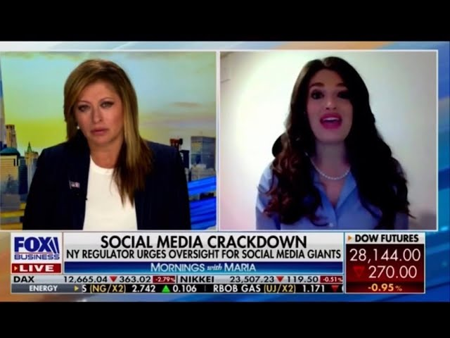 Fox Business Network: Facebook & Twitter Limit Access to NY Post Article