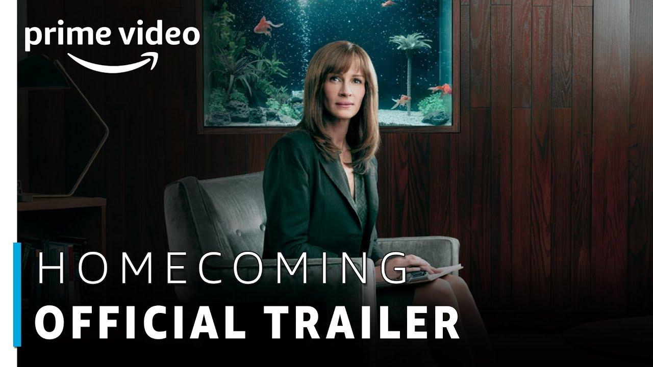 Resultado de imagem para Homecoming: vídeo da nova série do Amazon Prime Video com Julia Roberts
