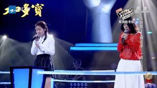 张碧晨, 魏雪漫 - 一路上有你 (中国好声音第三季, 优化版) thumbnail