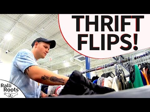 Finding Stuff at Thrift Stores to FLIP ONLINE!
