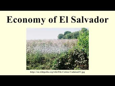 Economy of El Salvador