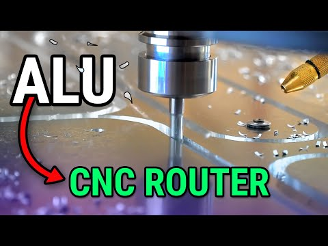 How to Cut Aluminum on a CNC Router