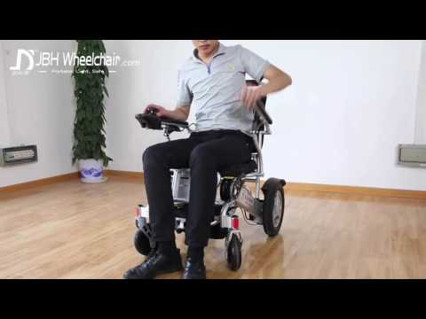 D09 The Perfect Travel Companion power chair-JBH Wheelchair